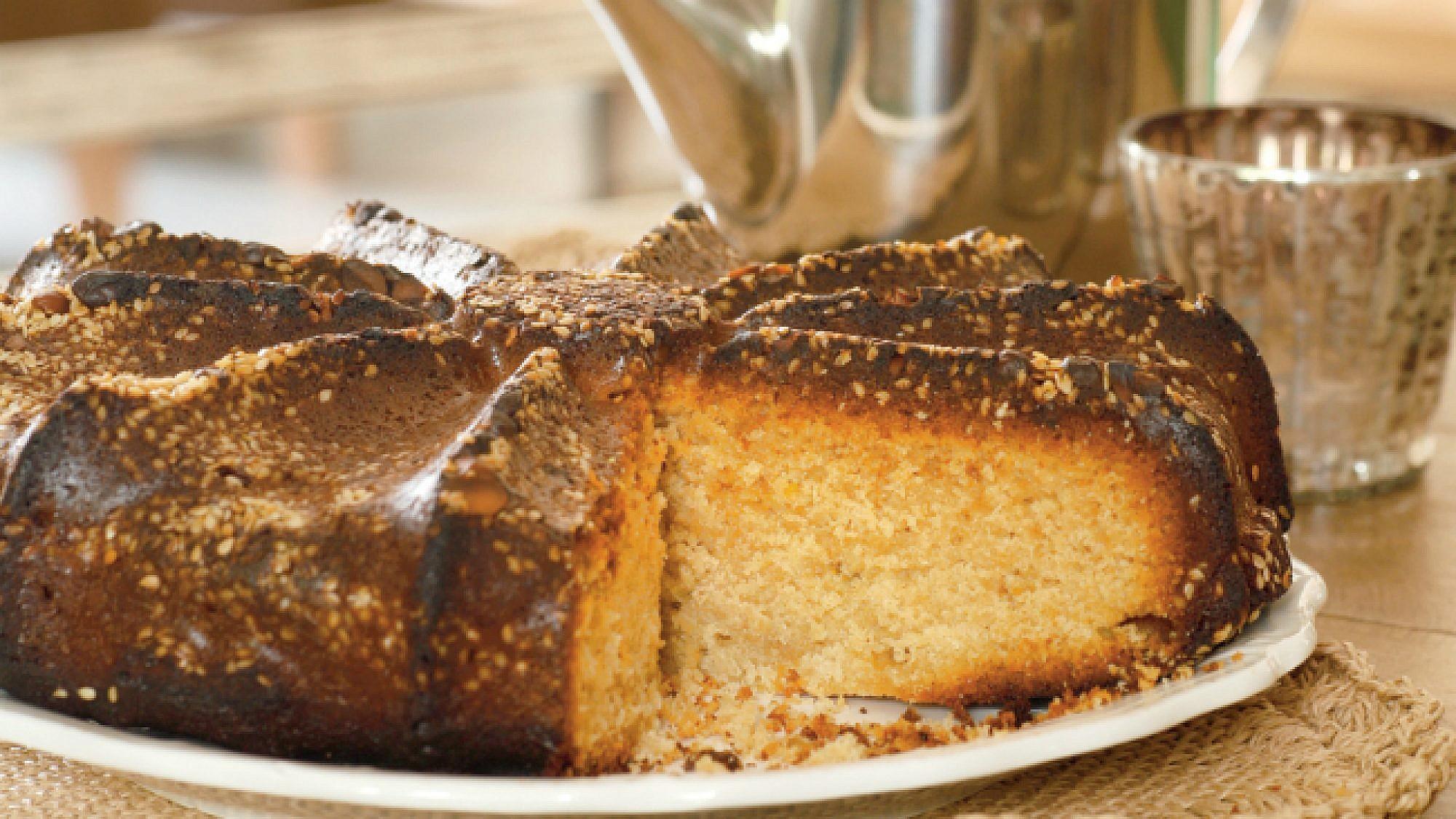 עוגת טחינה. צילום: דניה ויינר   סגנון: דלית רוסו