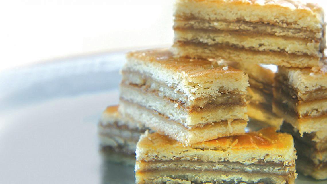 עוגיות שכבות בטעם קפה. צילום: דניאל לילה