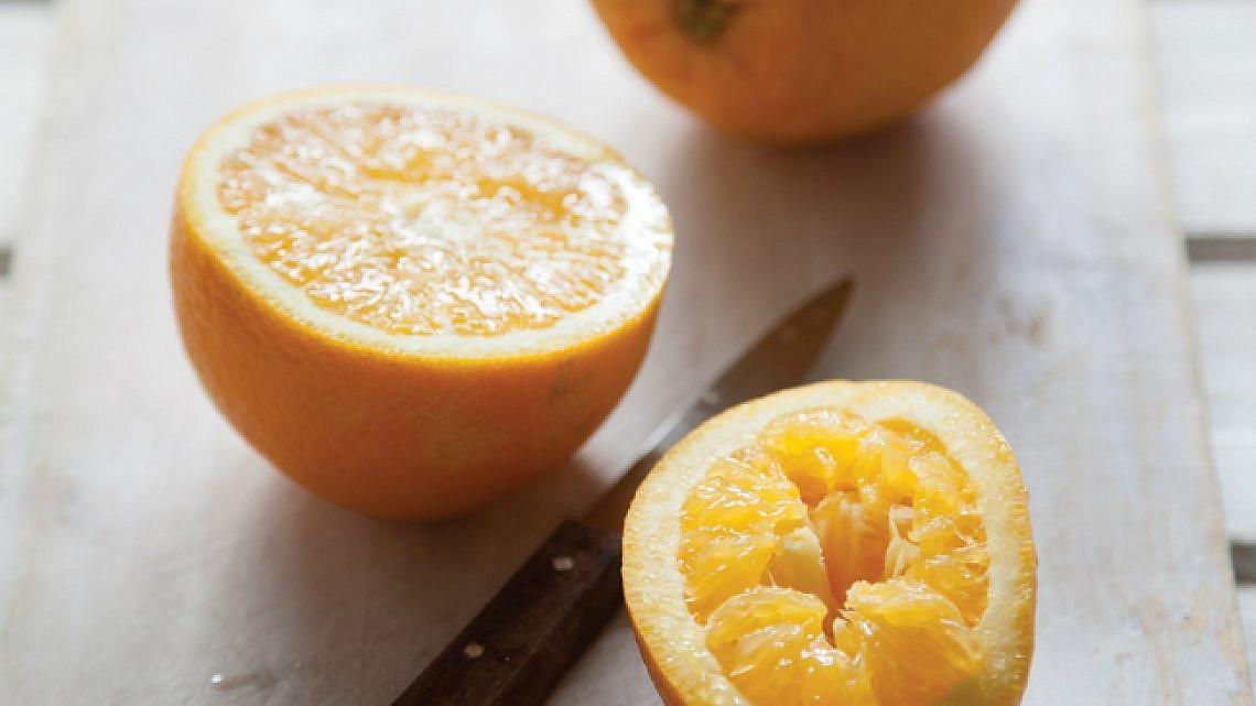 עוגת תפוזים נפלאה. צילום: דן לב | סגנון: אוריה גבע