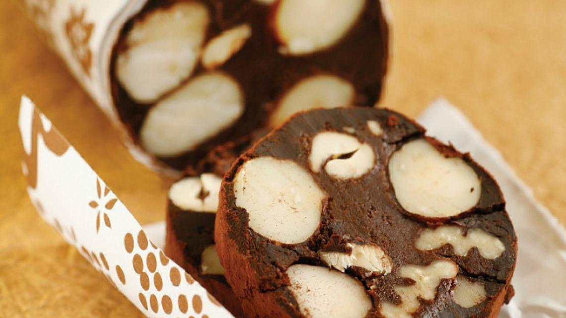 ממתק שוקולד ופיצוחים. צילום: דניה ויינר   סגנון: רותם ניר