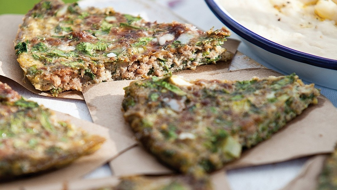 עיג'ה פיצה של שי לי ליפא. צילום דניאל לילה, סגנון: אוריה גבע