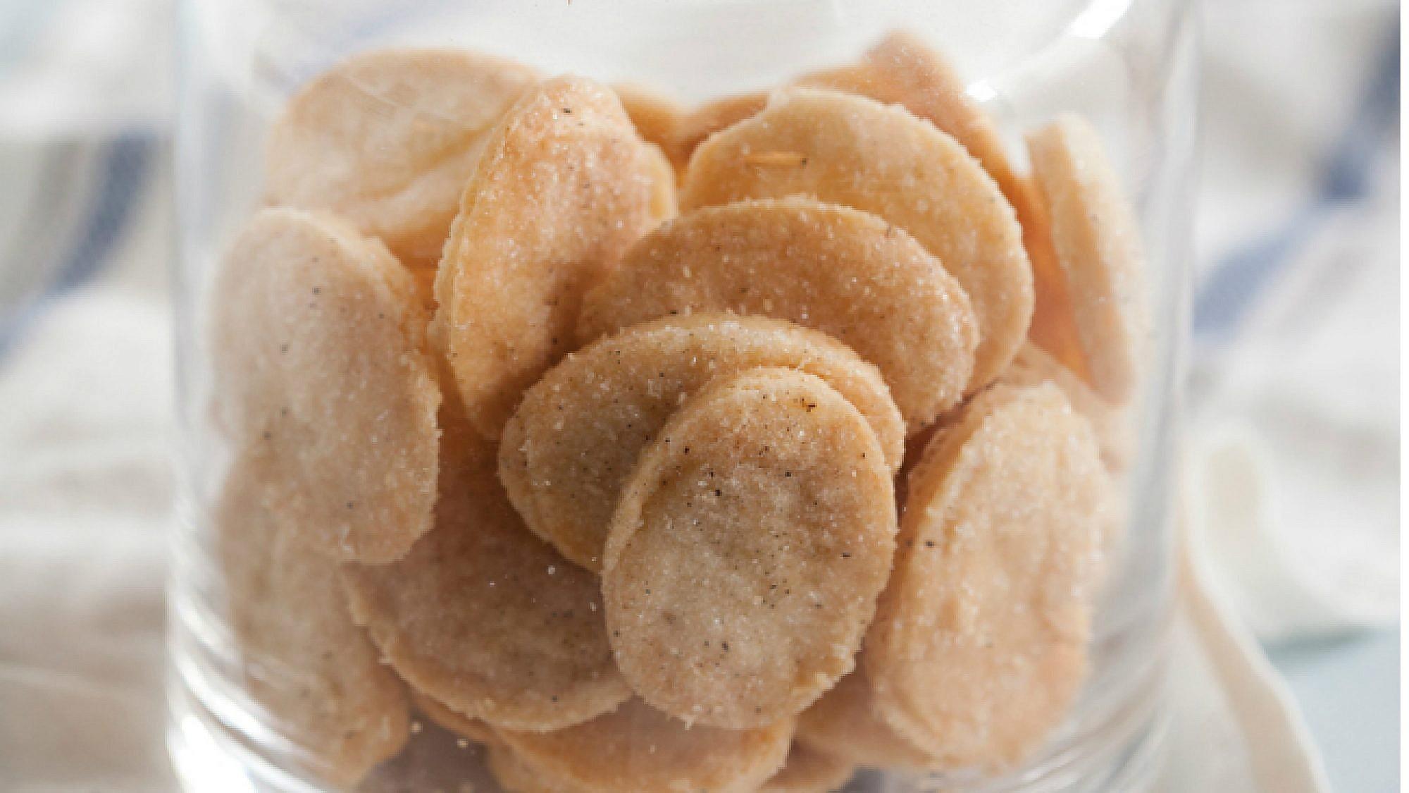 עוגיות חמאה נימוחות. צילום: דן לב | סגנון: דלית רוסו