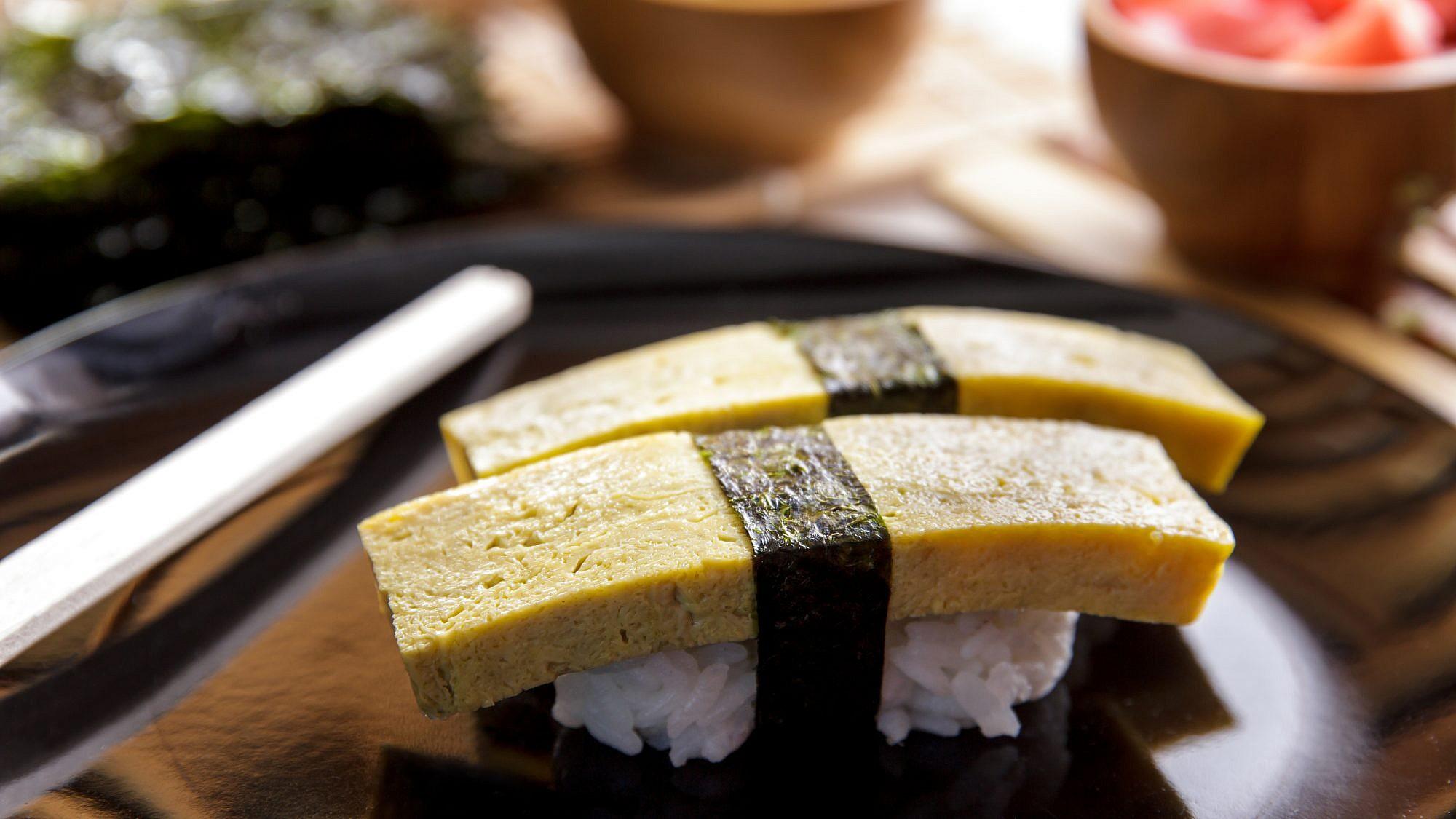 טמאגו -  חביתה יפנית. צילום: shutterstock