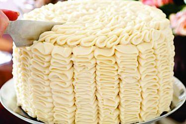 עוגת שכבות דבש. צילום: בועז לביא