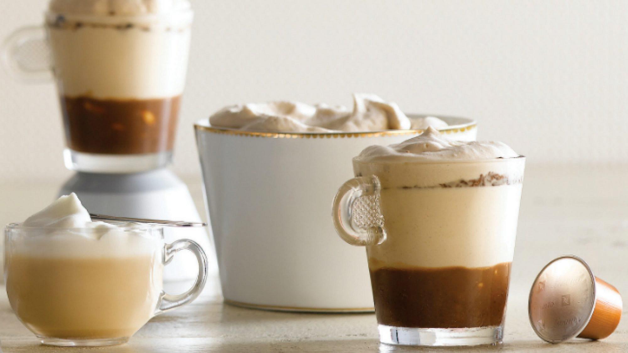 שכבות נספרסו שוקולד חלב ובוטנים. צילום: רונן מנגן | סגנון: עמית פרבר