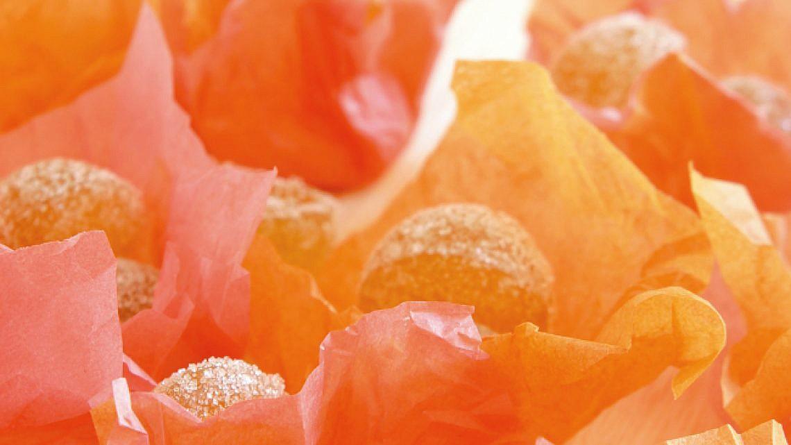 סוכריות מרמלדה תפוז. צילום: דניאל לילה   סגנון: רותם ניר