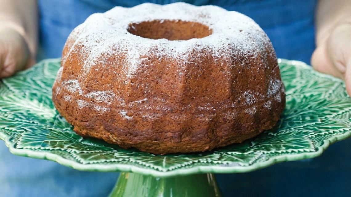 עוגת סילאן טבעונית. צילום: דניאל לילה   סגנון: עמית פרבר