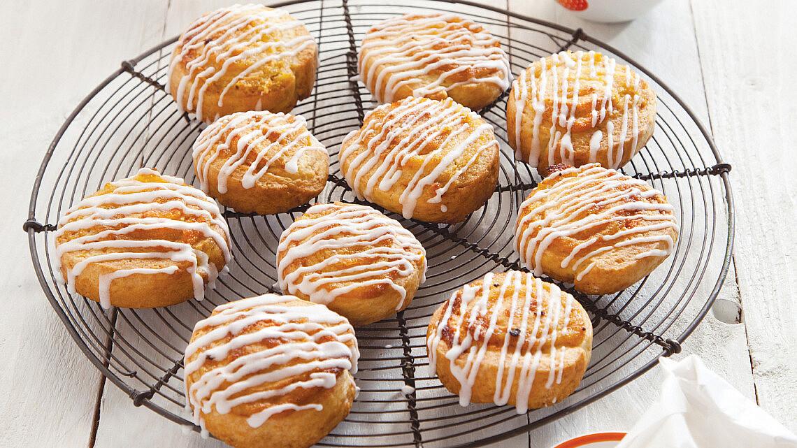 עוגיות שושנים מהודרות. צילום: דן לב | סגנון: אוריה גבע