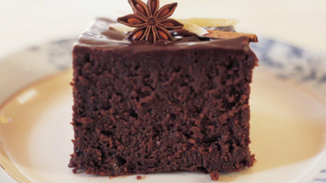 עוגת שוקולד-אניס ותבלינים