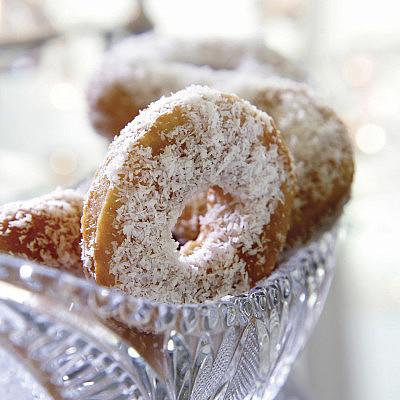 יויו - עוגיות מרוקאיות מבצק מטוגן. צילום: דניאל לילה   סגנון: טליה גון אסיף