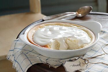 עוגת גבינה חמה. צילום: דניה ויינר | סגנון: דיאנה לינדר
