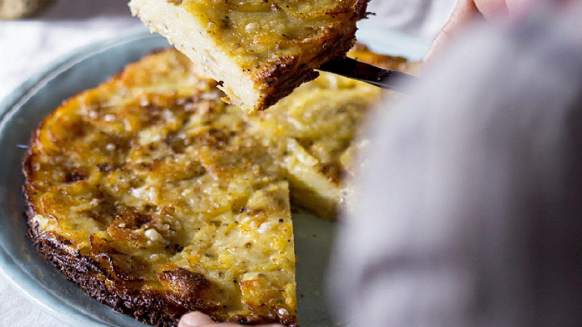 גראטן תפוחי אדמה ופורצ'יני. צילום: דן לב | סגנון: דלית רוסו