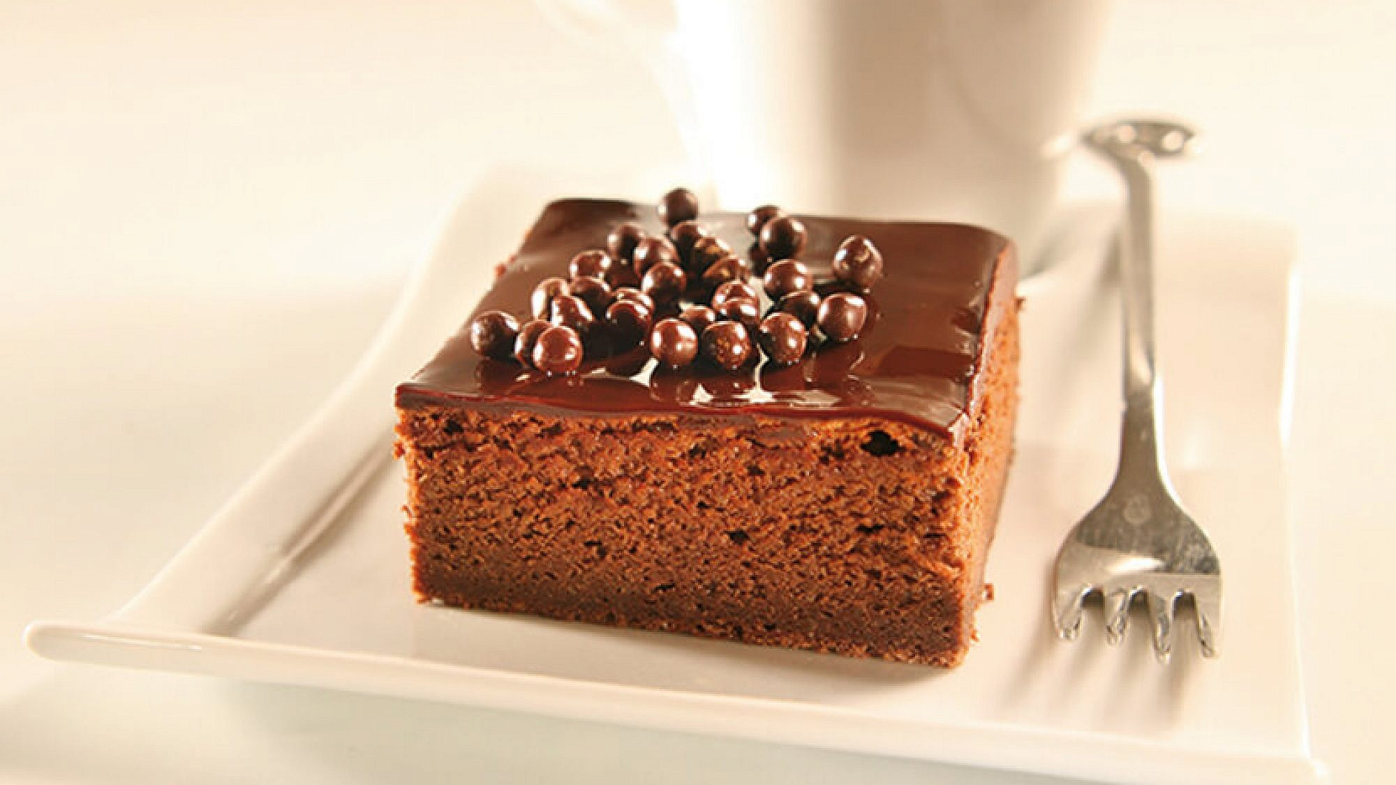 עוגת שוקולד נימוחה. צילום: דניאלה לילה