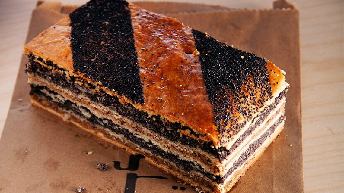 עוגת פרג של לחמנינה. צילום: דניאל לילה