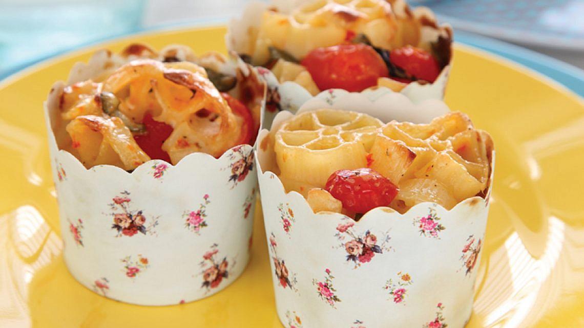 פסטיצ'יו עגבניות וגבינה
