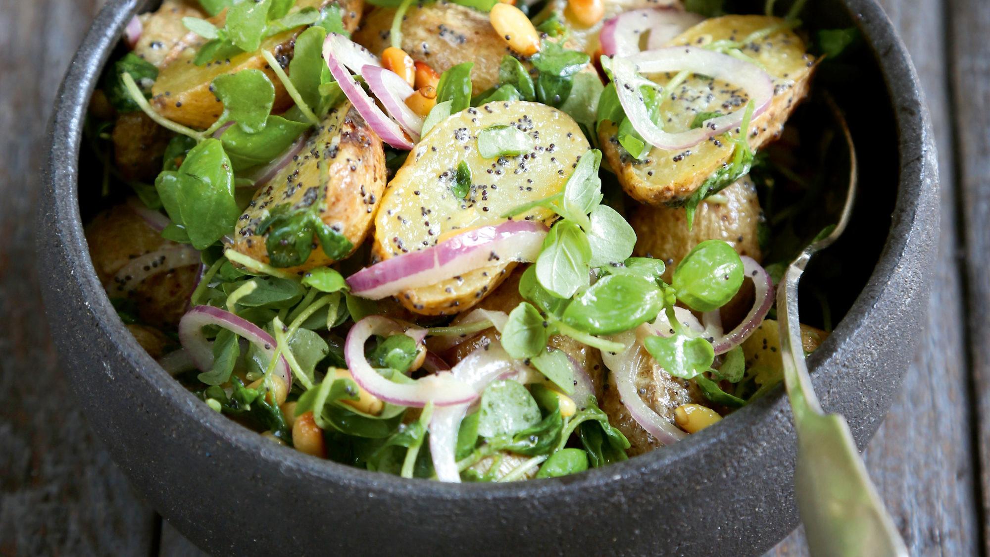 סלט תפוחי אדמה של לימור לניאדו תירוש. צילום וסטיילינג:לימור לניאדו תירוש