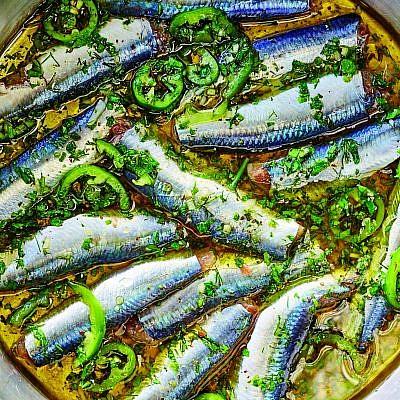 סרדלה, מתוך הספר ״גרקו - מטבח יווני״ . צילום: דן פרץ