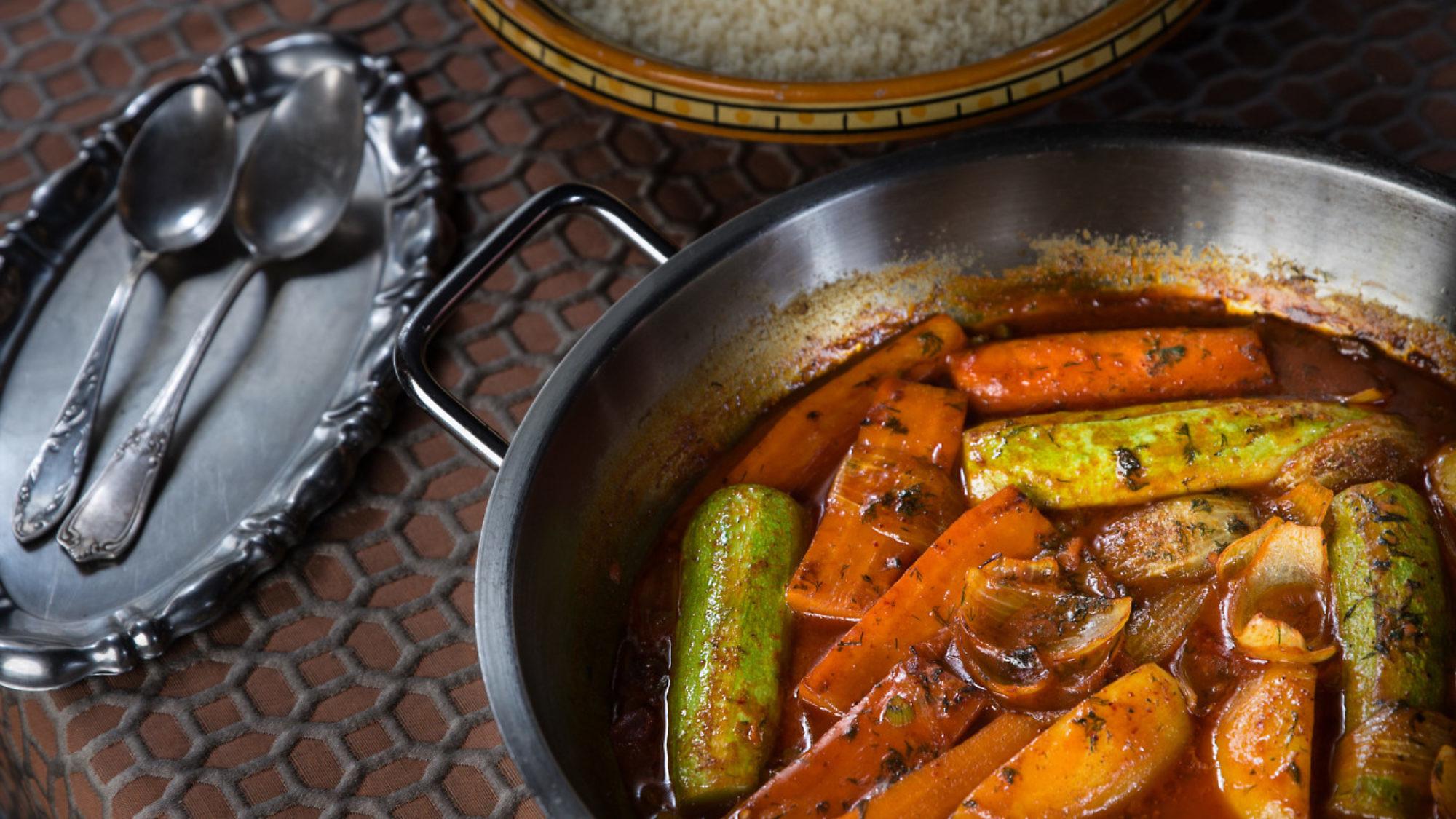 קוסקוס מהיר עם ירקות של סוליקה. צילום וסטיילינג: טל סיון־צפורי
