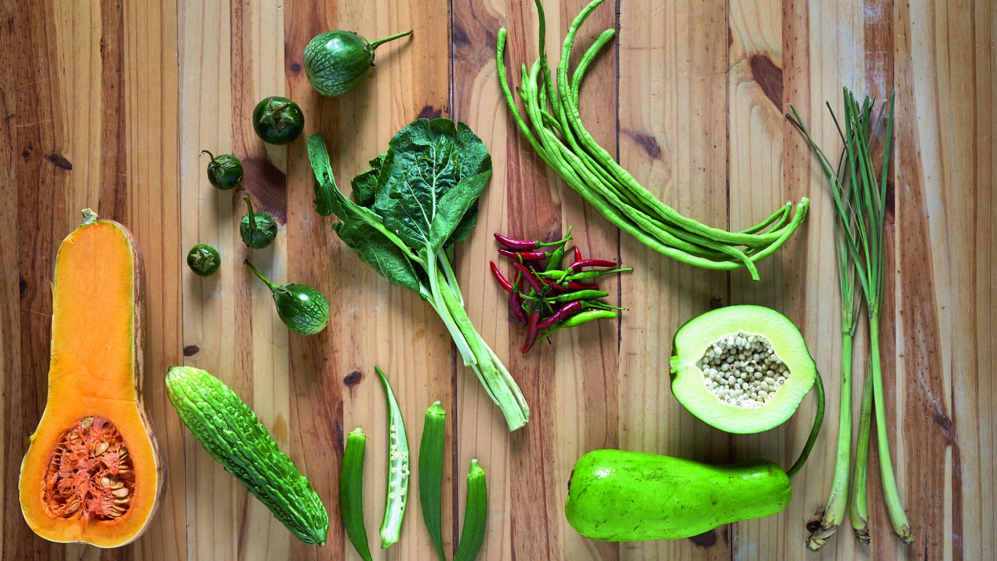ירקות תאילנדיים. צילום: אנטולי מיכאלו