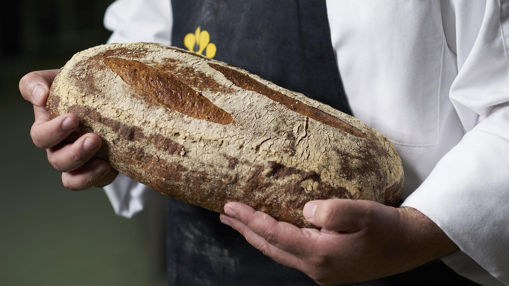 לחם מקמחי מורשת של האופה סער מור. צילום: אנטולי מיכאלו