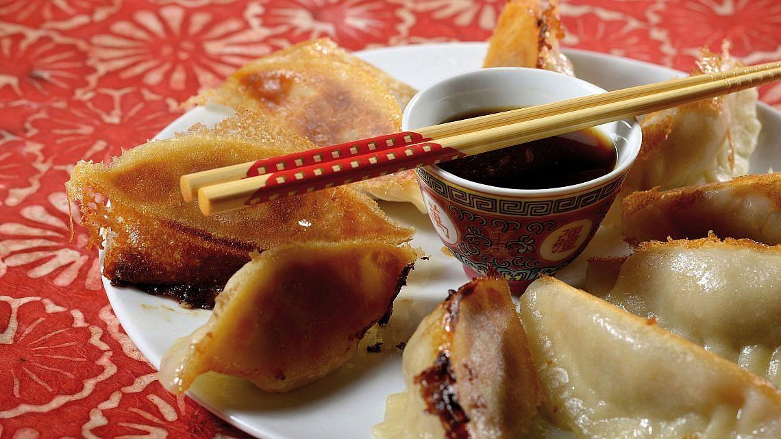 גיוזה של אהרוני ממסעדת הירו. צילום: רן בירן