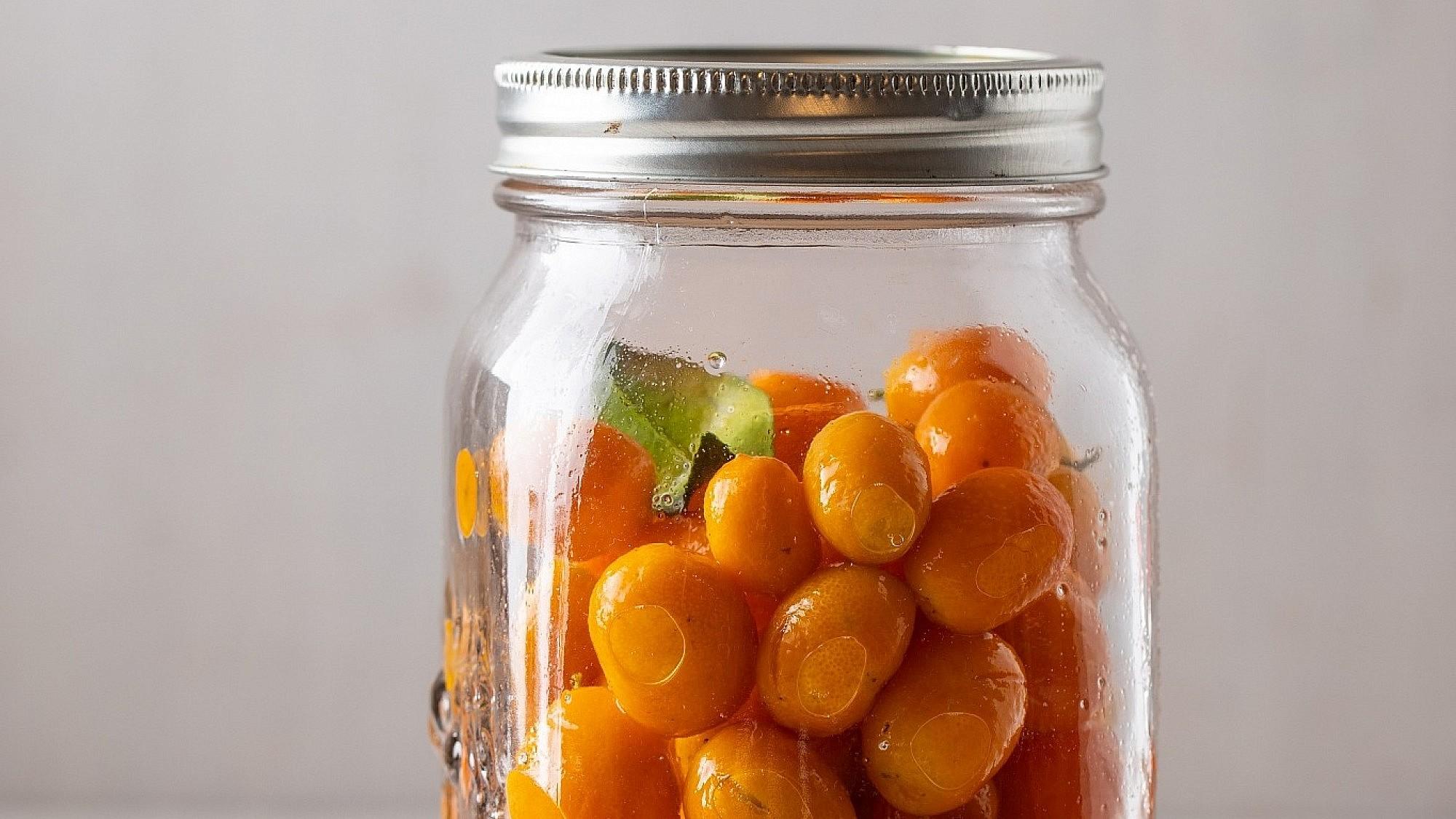 תפוז סיני כבוש של רינת צדוק. צילום: חיים יוסף