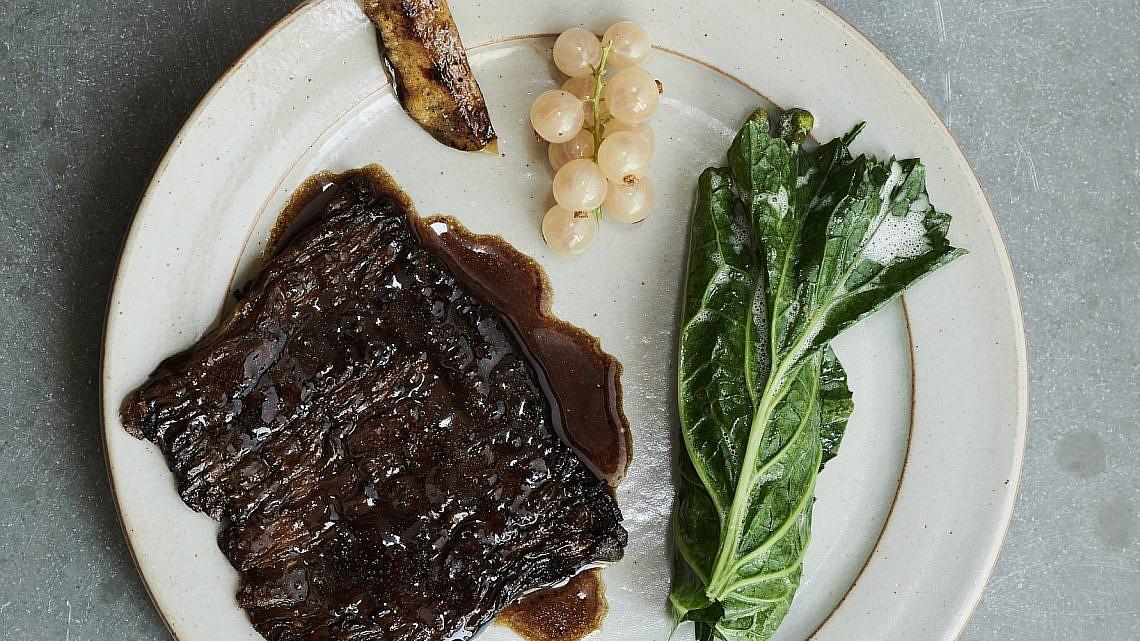 שווארמה צמחונית במסעדת נומה. צילום באדיבות המסעדה