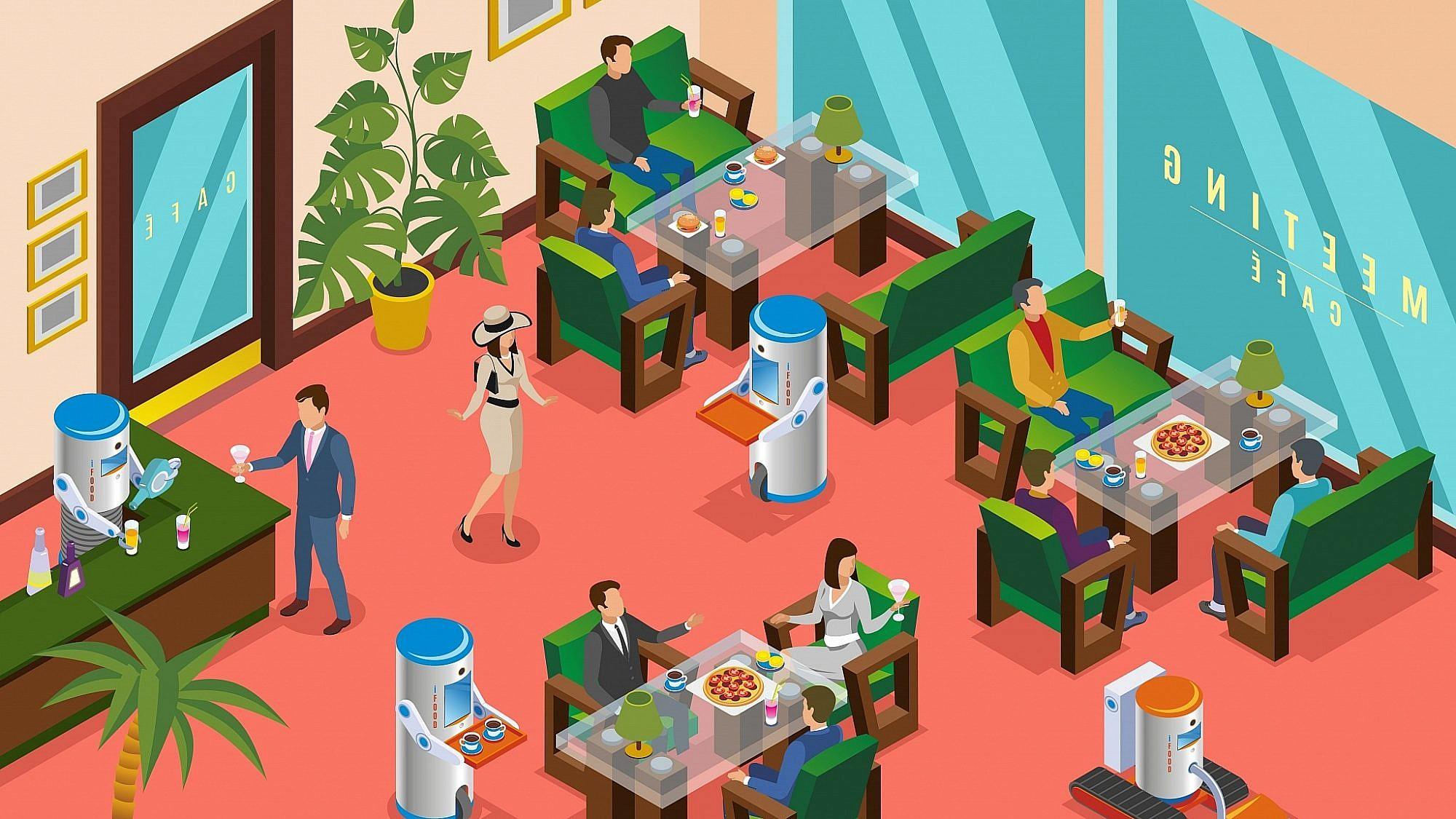 מסעדות העתיד? צילום: shutterstock