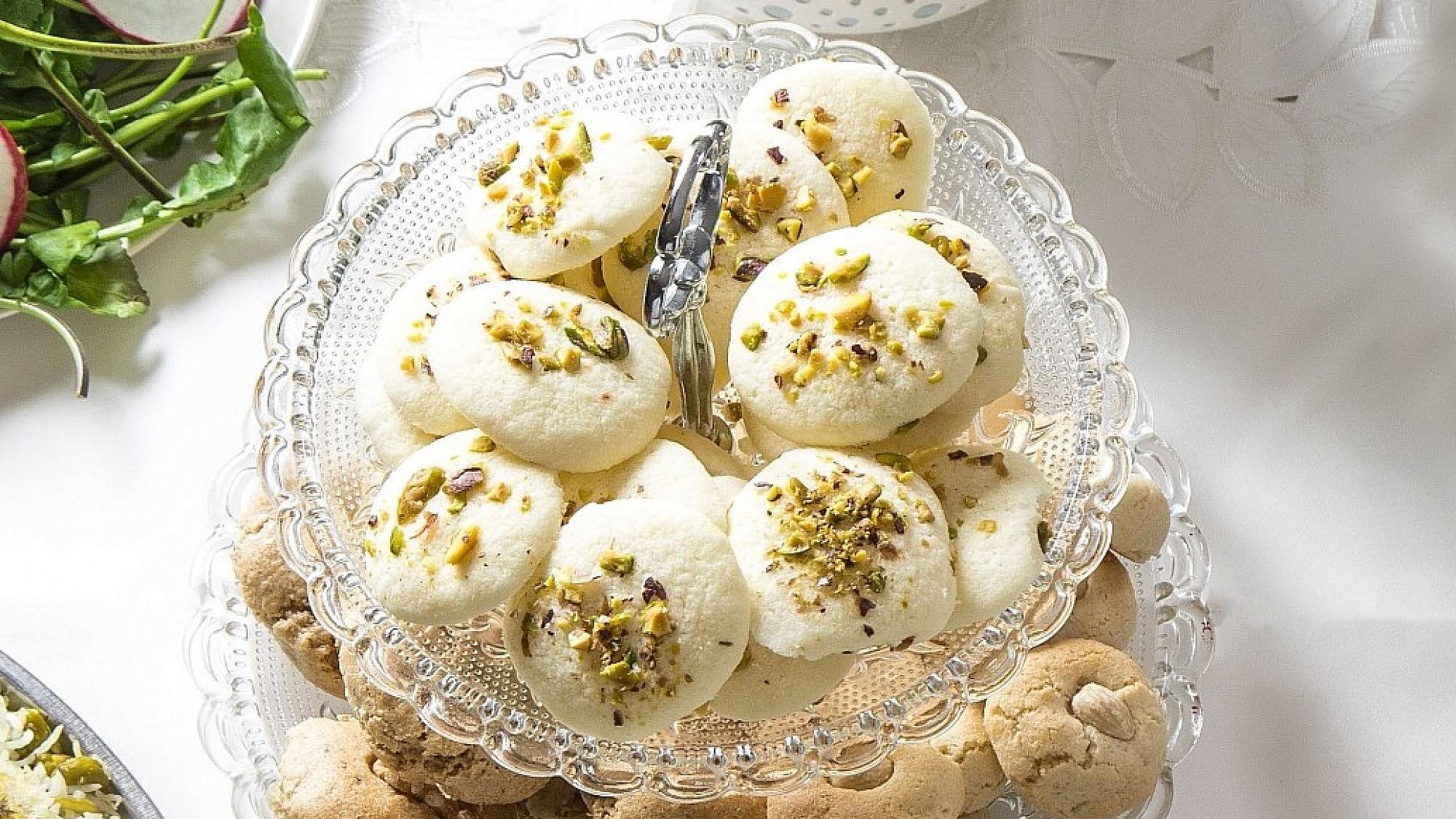 עוגיות אורז של שפית דיאנה רחמני. צילום: אפיק גבאי
