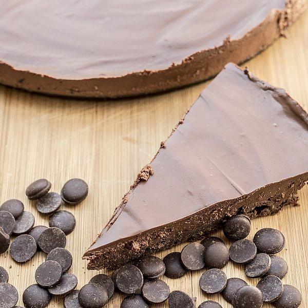 עוגת מוס נוטלה עם תחתית ללא קמח של גולדי אלישר. צילום:  רמי זרנגר