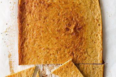פרינטה (Farinata) של אורנה ואלה. צילום: בועז לביא