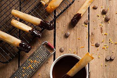 עוגיות פילו ושוקולד של לילית רומם. צילום: אפיק גבאי