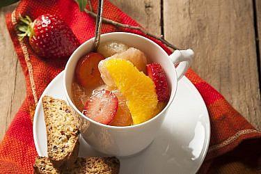 סלט פילה פירות הדר של לילית רומם. צילום: אפיק גבאי