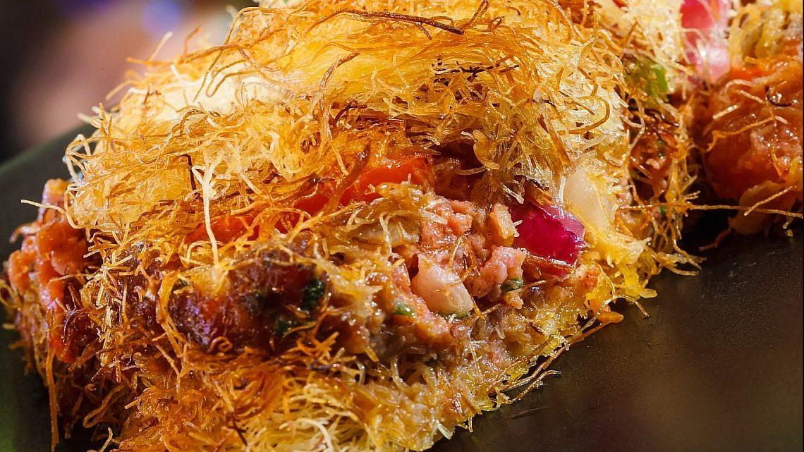 כנאפה טלה של שף צחי בוקששתר. צילום: יורם אשהיים