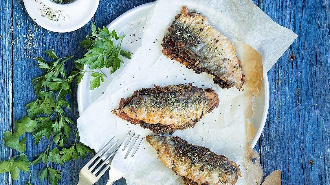 סרדינים ממולאים בסגנון מרוקאי של שפית לילה גראבלי. צילום: שרית גופן. סטיילינג: אינה גוטמן