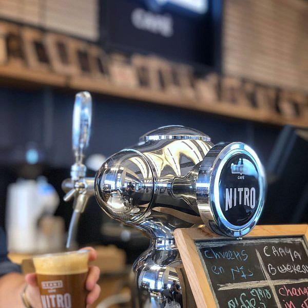 Nitro Coffee. צילום: יח