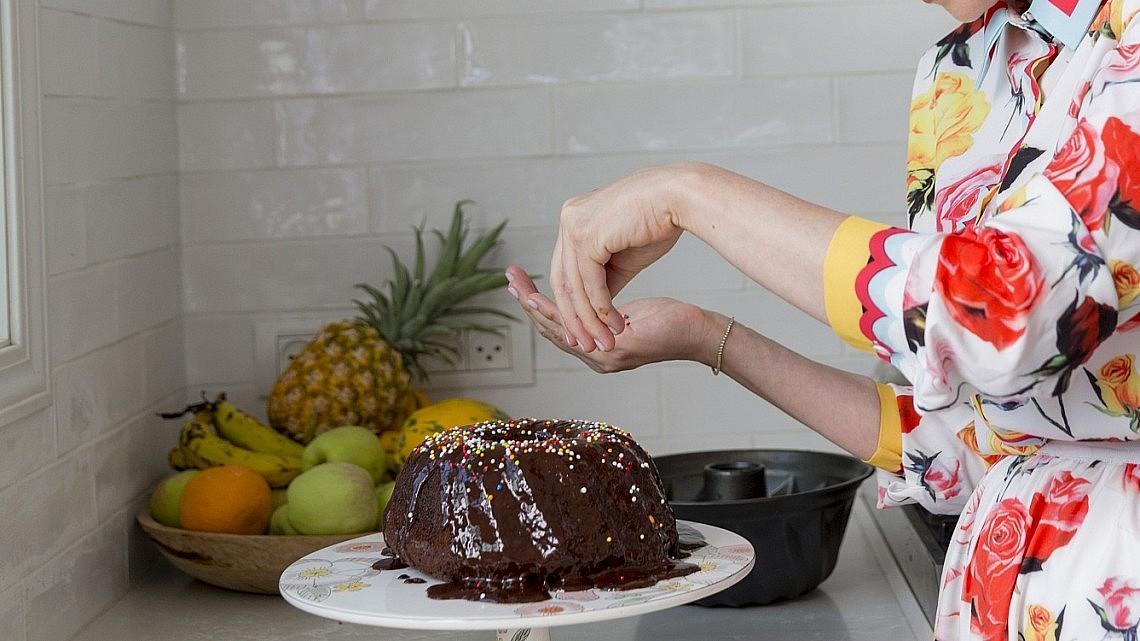 עוגת שוקולד של איה קרמרמן. צילום: יעל אילן