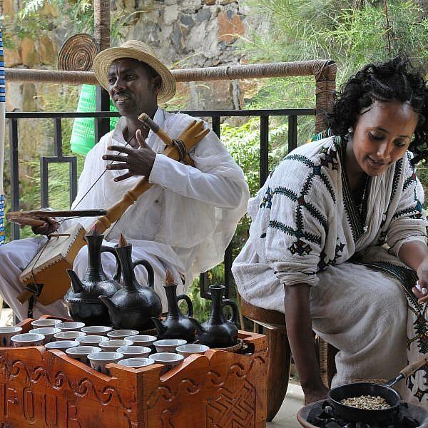 טקס קפה אתיופי. צילום: shutterstock