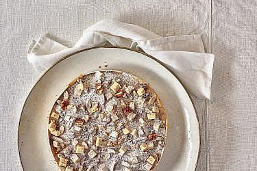 טארט קרם קרמל וחמאה של שף קונדיטור ליאור שטייגמן. צילום: אנטולי מיכאלו. סטיילינג: דיאנה לינדר