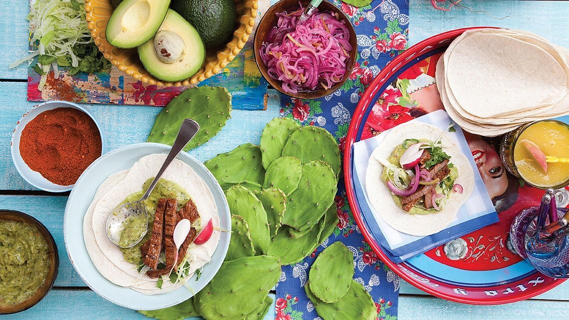 אוכל מקסיקני. צילום: דניאל לילה   סגנון: עמית פרבר