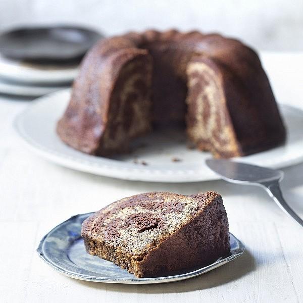 עוגת שיש קוקוס, פרג ושוקולד מתוך הספר