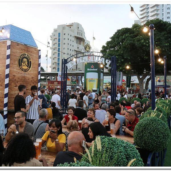 בירה לגדולים והופעות לכל המשפחה פסטיבל הבירה של נהריה. צילום: מיזם אוצרות הגליל