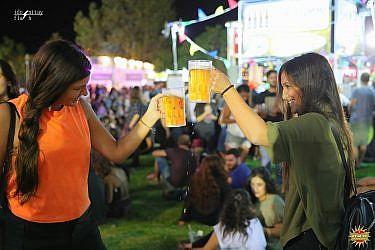 פסטיבל הבירה בירושלים. צילום: עידו ניתאי