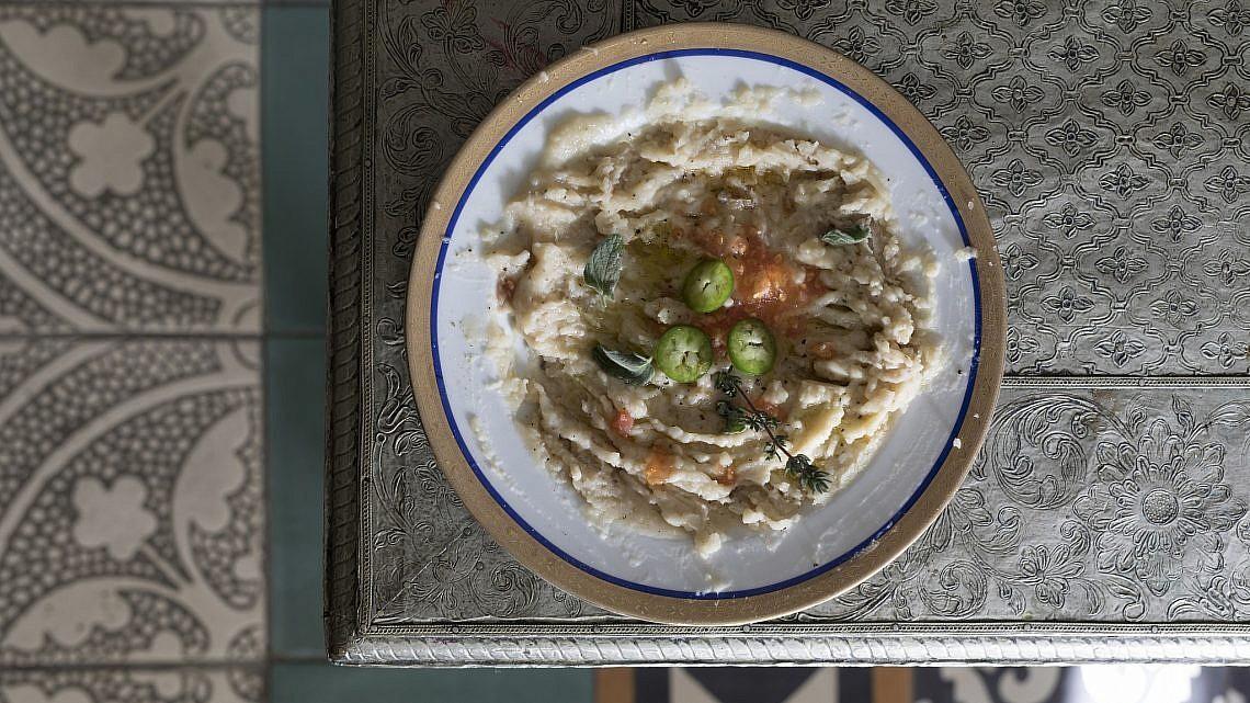 ממרח שעועית לימה (בובעס) של ננה שרייר. צילום: דניאל לילה