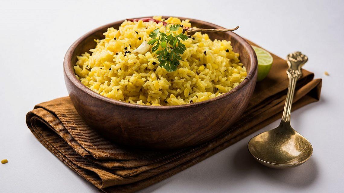 קיצ'רי אורז עגול. צילום: shuttrerstock