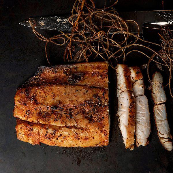 פסטרמה דג של רינת צדוק. צילום: שני בריל
