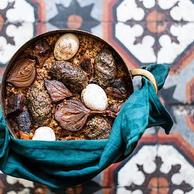 חמין תוניסאי של חן קורן. צילום: אסף קרלה