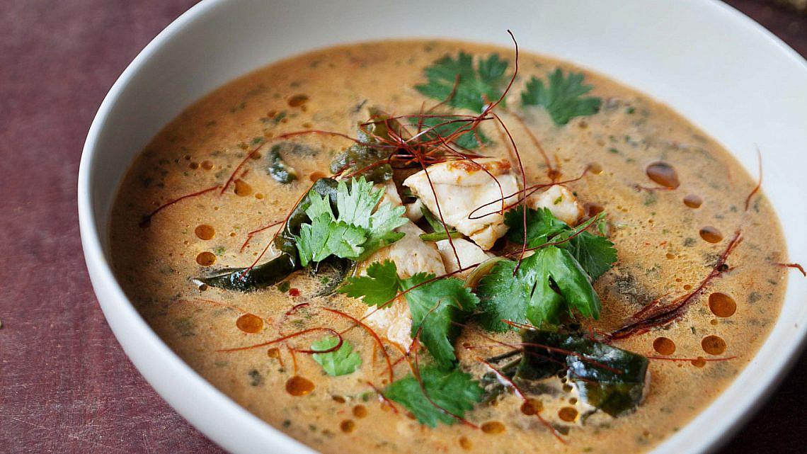 מרק דגים תאילנדי חריף של הזופה. צילום: דניאל לילה