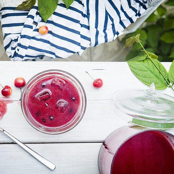 מרק פירות הונגרי קר של קריסטוף יוסף שטיינר | צילום: בן יוסטר | סגנון: דלית רוסו