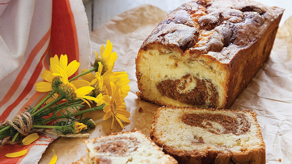 עוגת שיש וניל - פרלינה של אלירן דפני | צילום: דן לב | סגנון: דלית רוסו